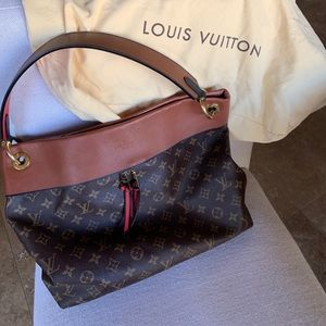Gently used Louis Vuitton shoulder bag